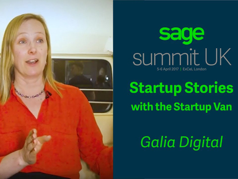 Emerging Tech Interview in the Startup Van at Sage Summit