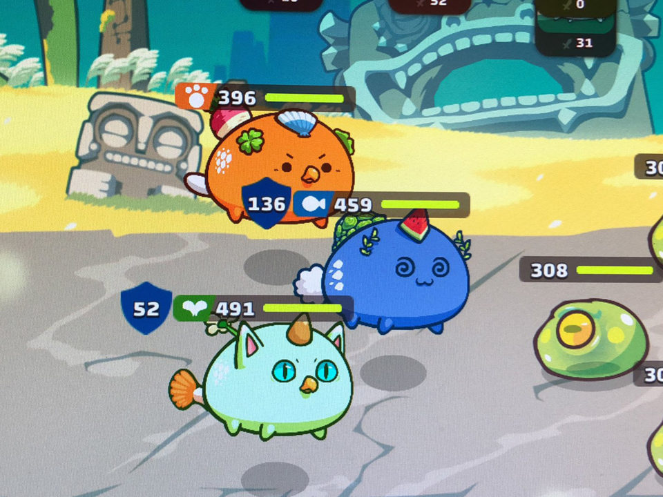 Axie Infinity screenshot